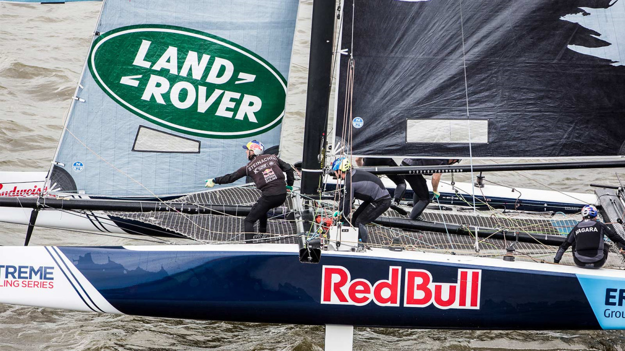 Land Rover and Sailing