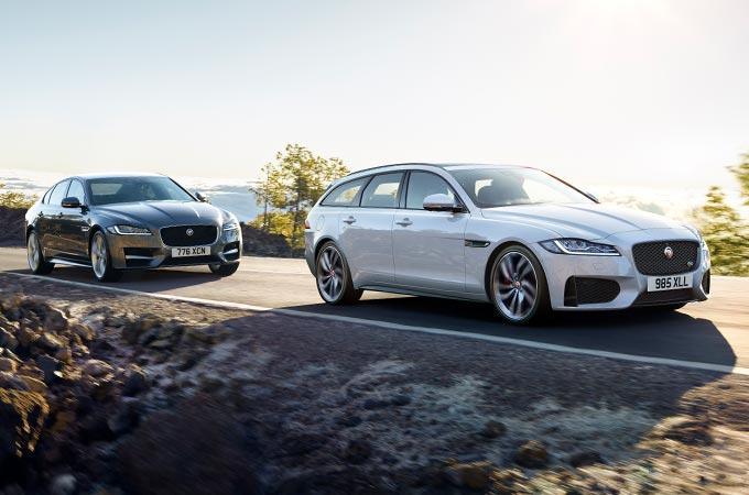 Jaguar XF Luxury Saloon and Sportbrake