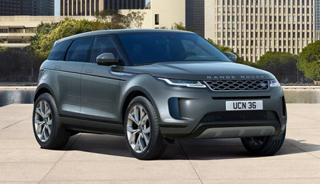 New Range Rover Evoque HSE Model
