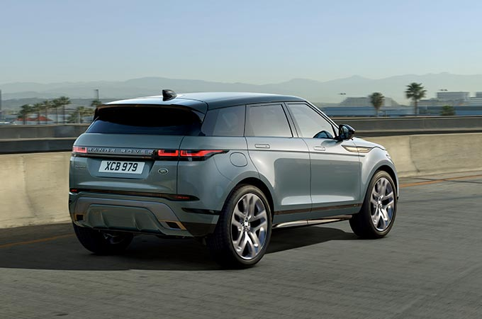 New Range Rover Evoque Dynamic Stability Control.