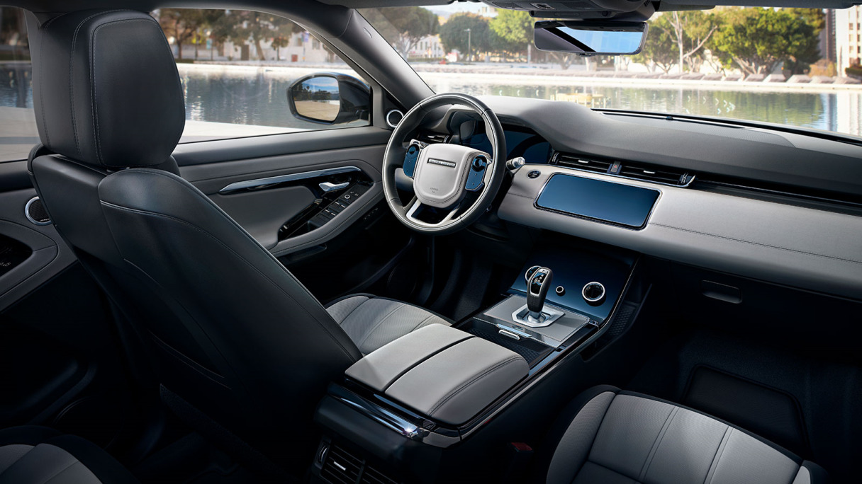 New Range Rover Evoque First Edition Interior Design.