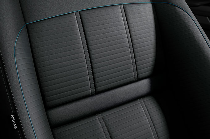 New Range Rover Evoque seating for maximised versatility and comfort.