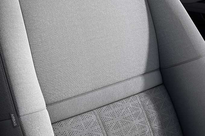 New Range Rover Evoque Seats equipped with functionalities.