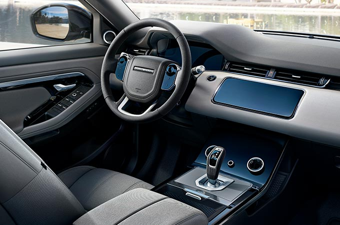 New Range Rover Evoque Interior Colourways.