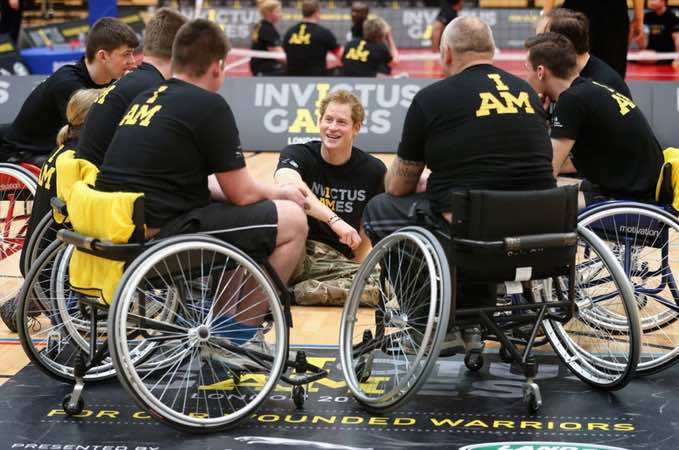 LAND ROVER SUPPORTS INVICTUS GAMES