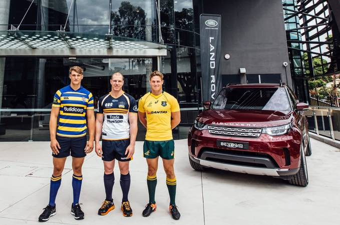 PROUD SUPPORTERS OF AUSTRALIAN RUGBY UNION