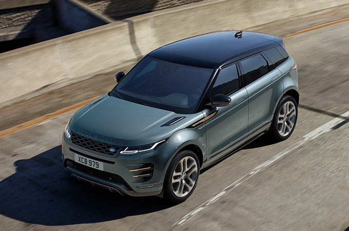 New Range Rover Evoque Suspension Artchitecture.