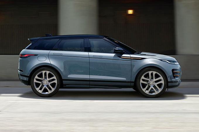New Range Rover Evoque 9-speed Automatic transmission.
