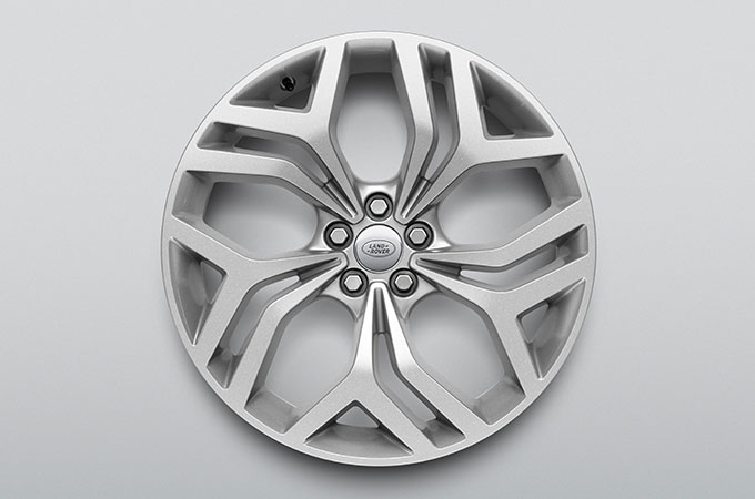 New Range Rover Evoque distinctive designed wheel.