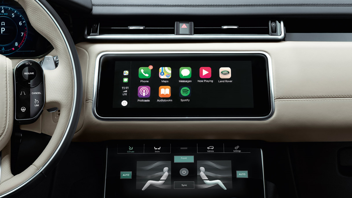 Jaguar InControl Touch Pro | Android Auto and Apple CarPlay