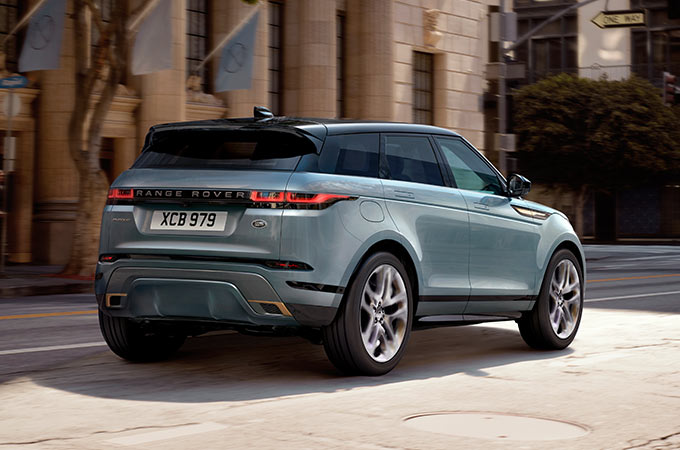 New Range Rover Evoque distinctive design.