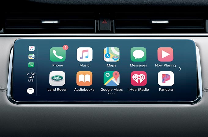 Range Rover Evoque Touchscreen with Smartphone Pack