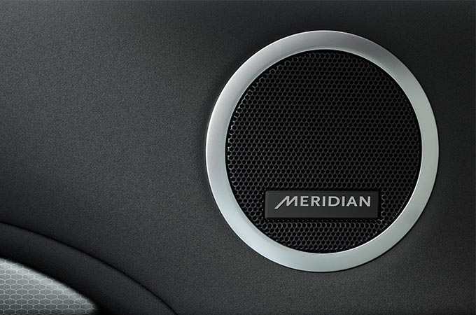 Discovery Landmark Edition Meridian Sound System.