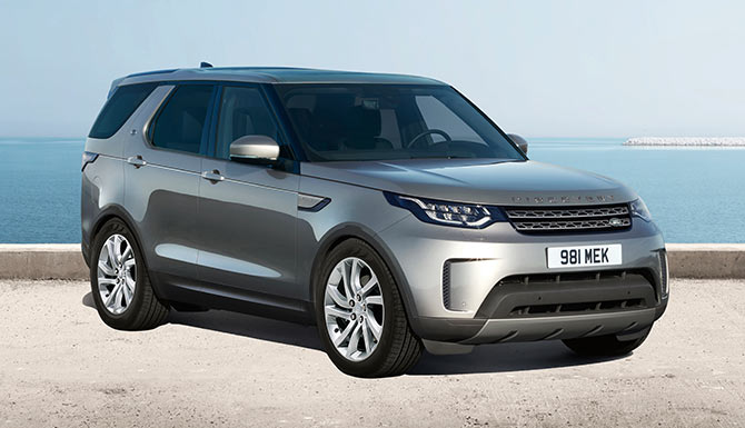 Land Rover Discovery Off-Road SUV Vehicle Model Anniversary
