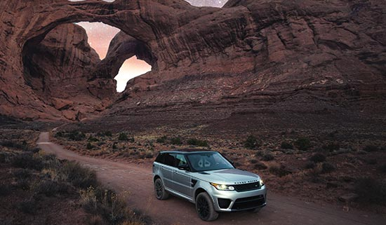 Velar no Red Cliff em Utah