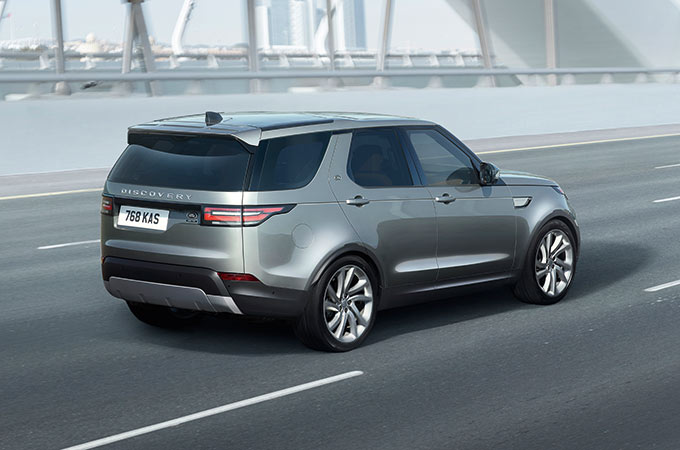 Land Rover Discovery Driving Systems.