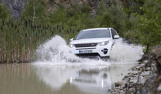 Land Rover Level 2 Experience.