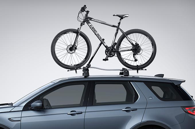 Tow Bar Mounted Bike Carrier on Discovery Sport.