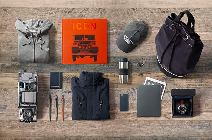 Land Rover gifts.