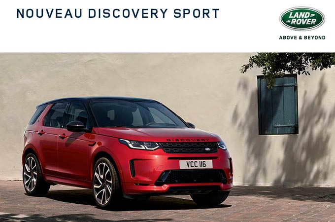 Discovery Sport Brochure Cover
