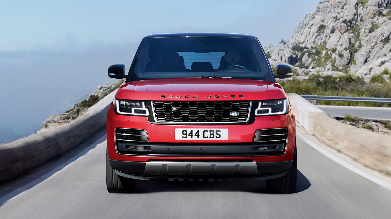 front view Range Rover