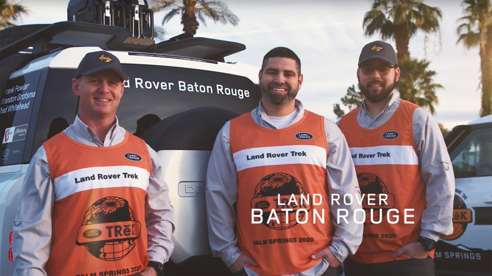 Land Rover TReK Off-Road Competition team from Baton Rouge, Louisiana.